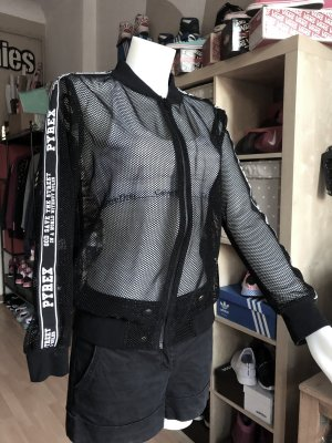 Pyrex Giacca da motociclista nero-bianco