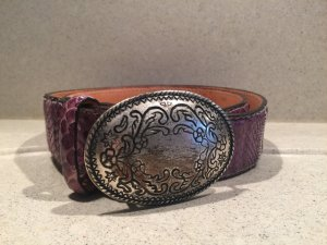 Belt dark violet