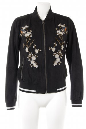 Q/S Bomberjacke florales Muster Casual-Look