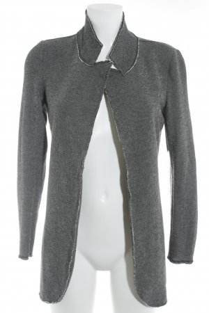 Q/S Cardigan anthrazit-wollweiß meliert Casual-Look