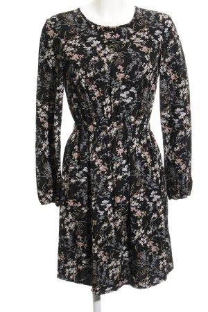 Q/S Jerseykleid Blumenmuster Casual-Look