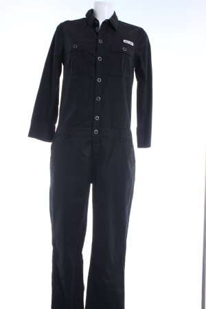 Q/S Jumpsuit schwarz Urban-Look