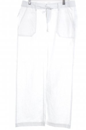 Q/S Linen Pants white casual look