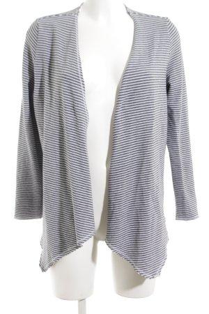 Q/S Veste chemise bleu-blanc motif rayé style décontracté