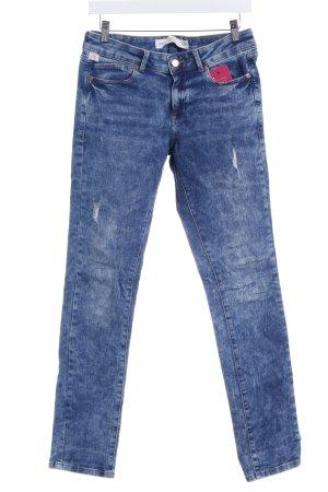Q/S Slim Jeans blau-stahlblau Casual-Look