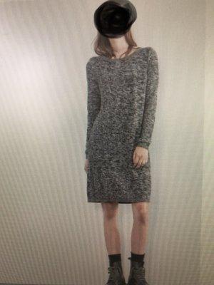 Q/S Sweater Dress grey-natural white