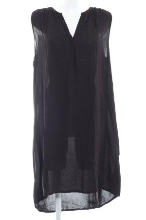 Q/S Tunikakleid schwarz schlichter Stil