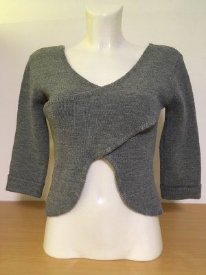 QED London Strickjacke, Pullover grau