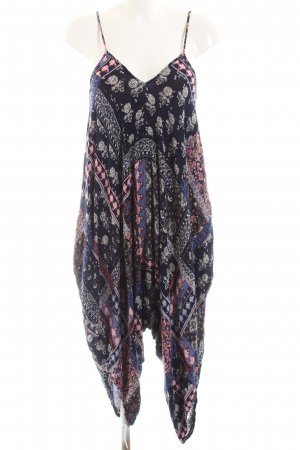 QED London Robe tunique motif abstrait style décontracté
