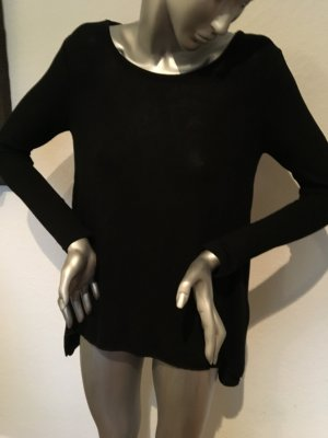 Qian mei Longshirt schwarz Baumwolle Gr. S