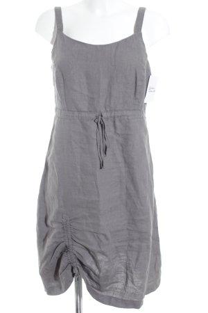 Qiero A-Linien Kleid dunkelgrau-graubraun Beach-Look