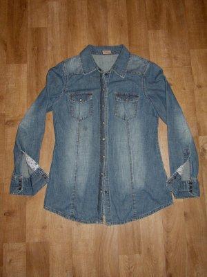 Qiero Jeans-Bluse Gr. 40