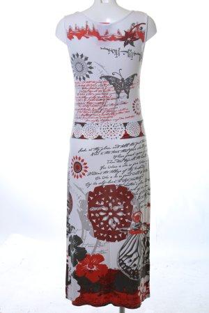 Qiero Jerseykleid Motivdruck Casual-Look
