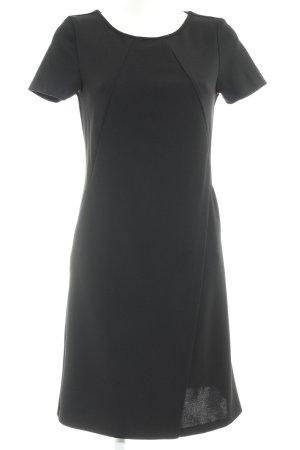 Qiero Kurzarmkleid schwarz klassischer Stil