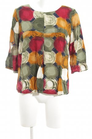 Qiero Schlupf-Bluse abstraktes Muster Business-Look
