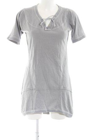 Qiero Shirtkleid hellgrau Casual-Look