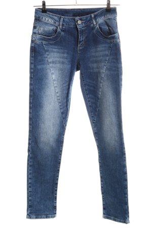 Qiero Skinny Jeans blau Casual-Look