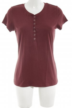 Qiero T-Shirt rot schlichter Stil