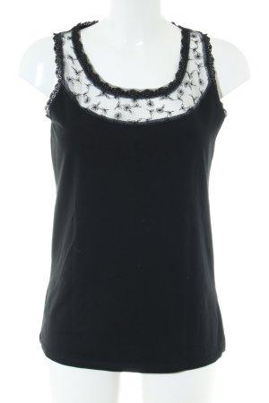 Qiero Trägertop schwarz Elegant