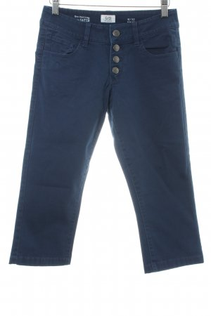 QS by s.Oliver 3/4-Hose dunkelblau Casual-Look