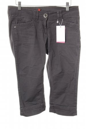 QS by s.Oliver 3/4-Hose dunkelgrau Casual-Look