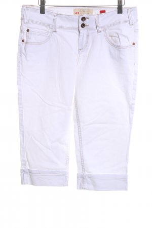 QS by s.Oliver 3/4 Jeans weiß Casual-Look