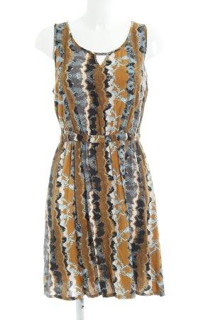 QS by s.Oliver A-Linien Kleid abstraktes Muster extravaganter Stil
