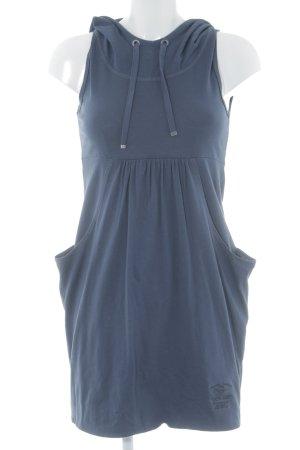 QS by s.Oliver A-Linien Kleid dunkelblau sportlicher Stil