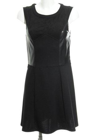 QS by s.Oliver A-Linien Kleid schwarz Elegant