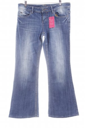 QS by s.Oliver Boot Cut Jeans stahlblau Casual-Look