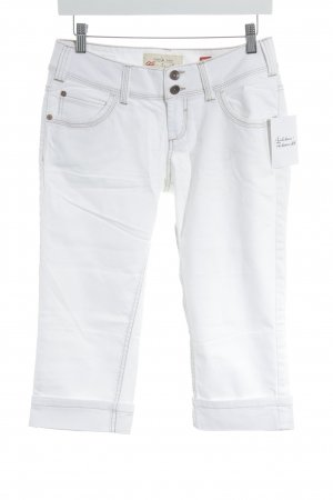 QS by s.Oliver Caprihose weiß Casual-Look
