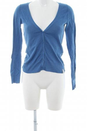 QS by s.Oliver Cardigan blau Casual-Look