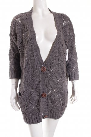 QS by s.Oliver Cardigan grau Casual-Look