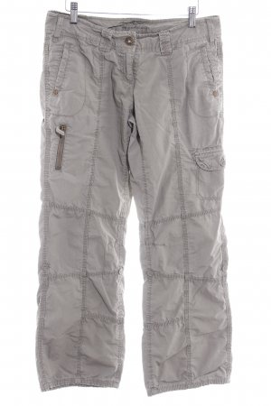 QS by s.Oliver Cargo Pants green grey safari look
