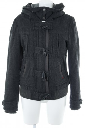 QS by s.Oliver Duffel Coat dark grey casual look