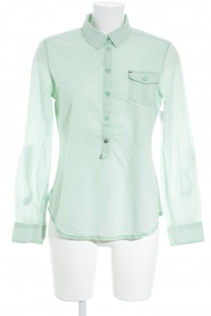 QS by s.Oliver Hemd-Bluse hellgrün Casual-Look