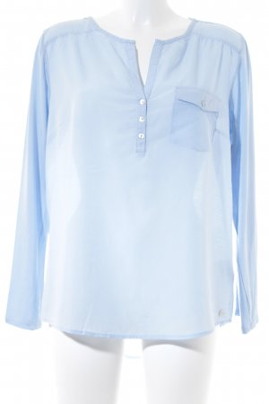QS by s.Oliver Hemd-Bluse himmelblau Casual-Look