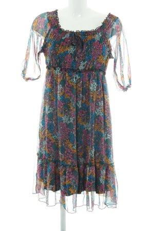 QS by s.Oliver Abito hippie motivo floreale stile hippie
