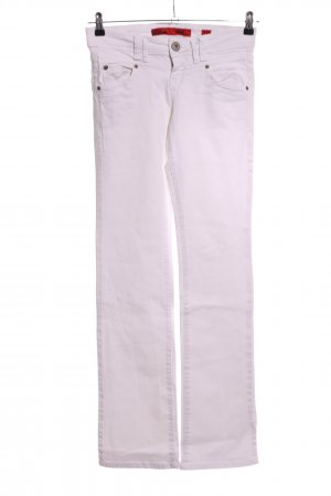 QS by s.Oliver Low Rise Jeans white casual look