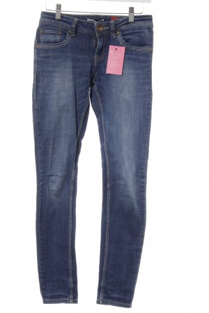 QS by s.Oliver Hüftjeans dunkelblau Casual-Look