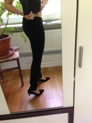 QS by S.Oliver Jeans/Hose Catie Slim Damen schwarz W29/L30 Gr 36