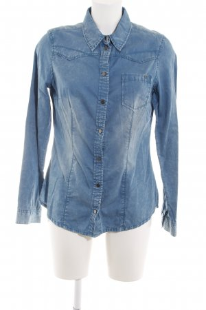 QS by s.Oliver Giacca denim blu stile casual
