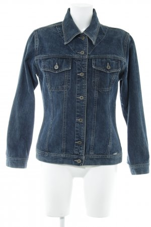 QS by s.Oliver Jeansjacke dunkelblau Casual-Look