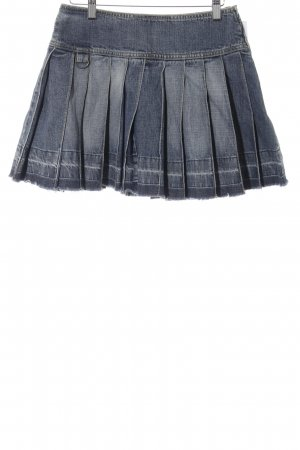 QS by s.Oliver Jeansrock blau Casual-Look