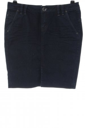 QS by s.Oliver Gonna di jeans nero stile casual
