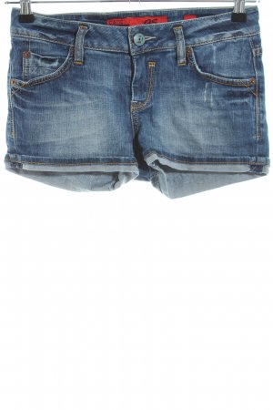 QS by s.Oliver Jeansshorts blau Casual-Look
