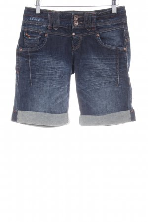 QS by s.Oliver Jeansshorts dunkelblau Casual-Look