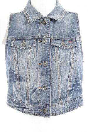 QS by s.Oliver Denim Vest blue second hand look