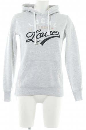 QS by s.Oliver Capuchon sweater gedrukte letters atletische stijl