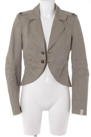 QS by s.Oliver Kurz-Blazer beige Casual-Look